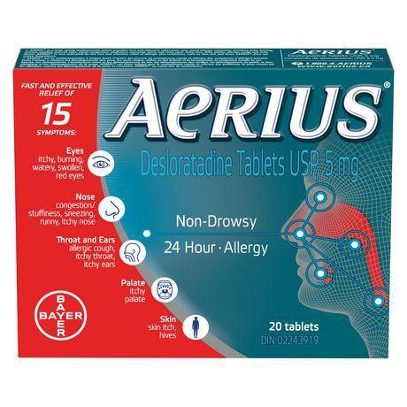 Allergy non-drowsy 24hr 20 count