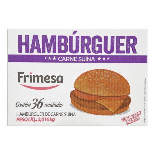 Hambúrguer de carne suína