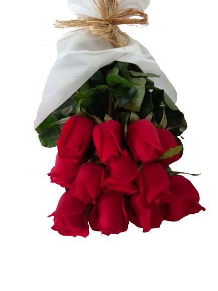 Rosas rojas 12 varas aprox