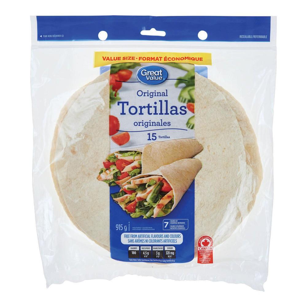 Original tortillas value pack