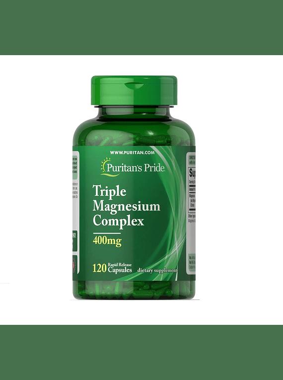 Complejo triple magnesio en capsulas