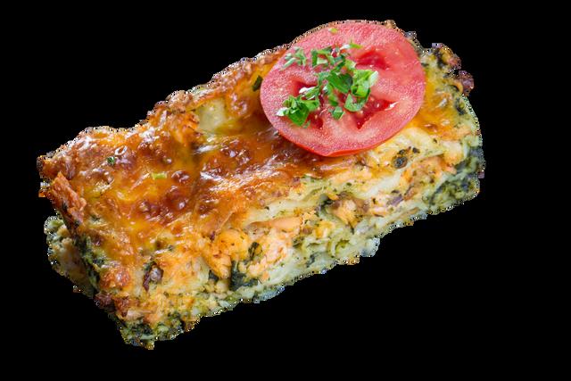 Lasagna salmón espinaca