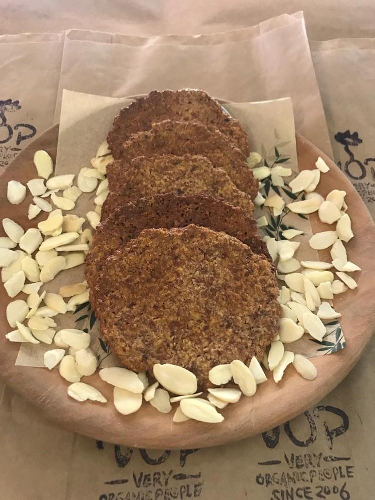 Keto galleta crunchy de almendras unidad de 65g aprox
