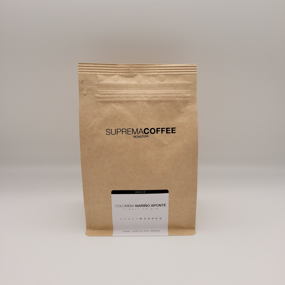 Colombia nariño aponte, honey washed - whole bean 12 oz
