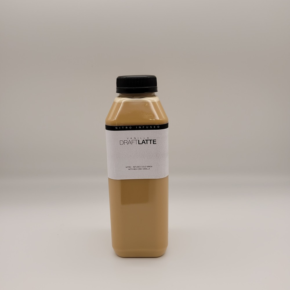 Nitro draft vanilla latte 16 oz