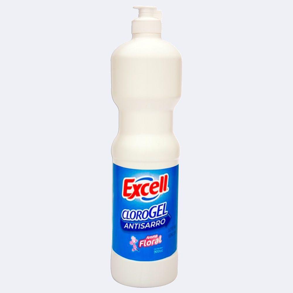 Cloro gel floral 900 ml