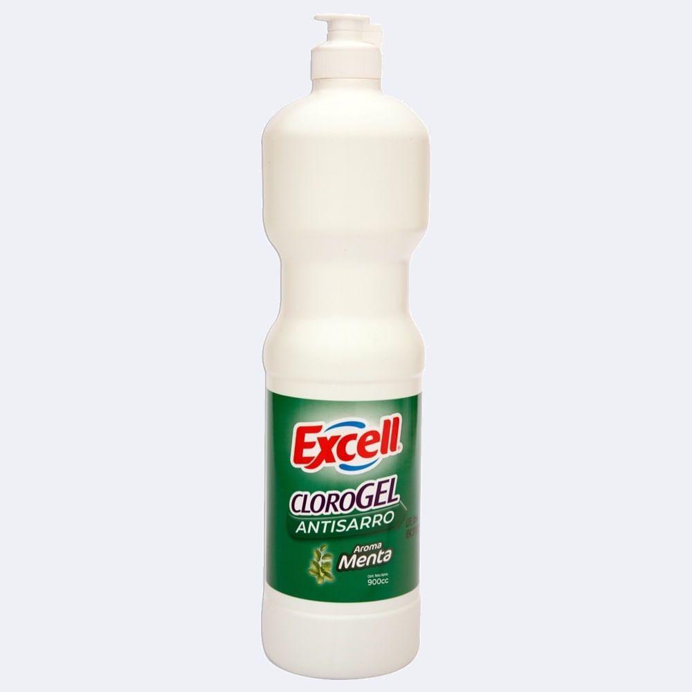 Cloro gel menta 900 ml