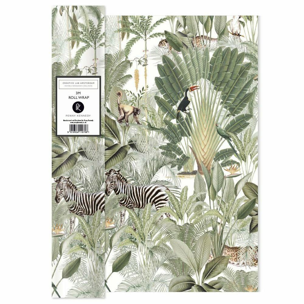 Rollo papel regalo jungla - into the wild