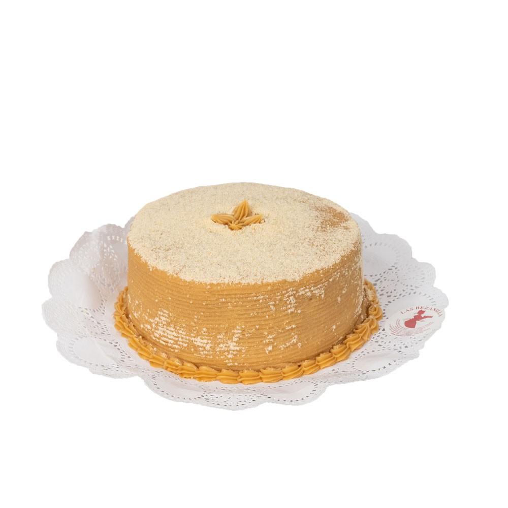 Torta Mil Hoja Manjar para  20 personas- Duración 30 días