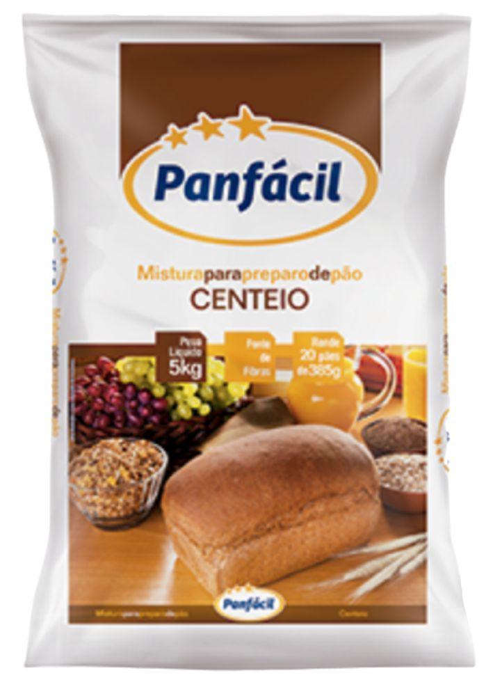 Mistura para o preparo de pão de centeio