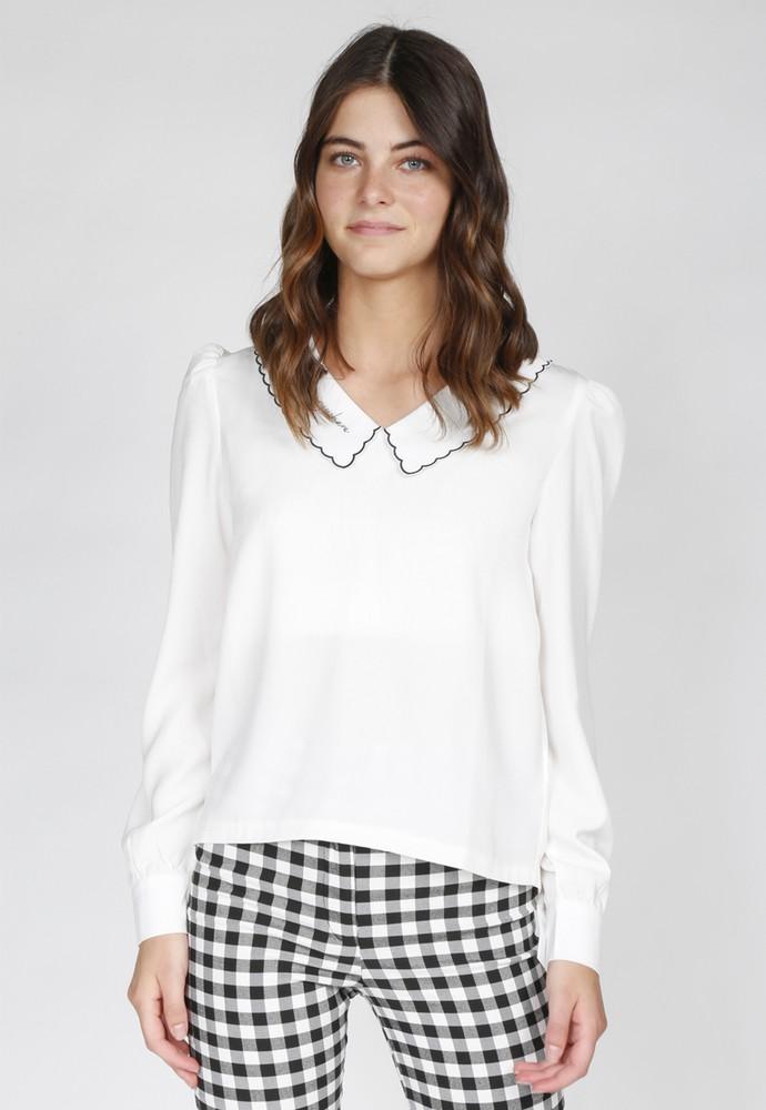 Blusa kate blanco atrevida XL
