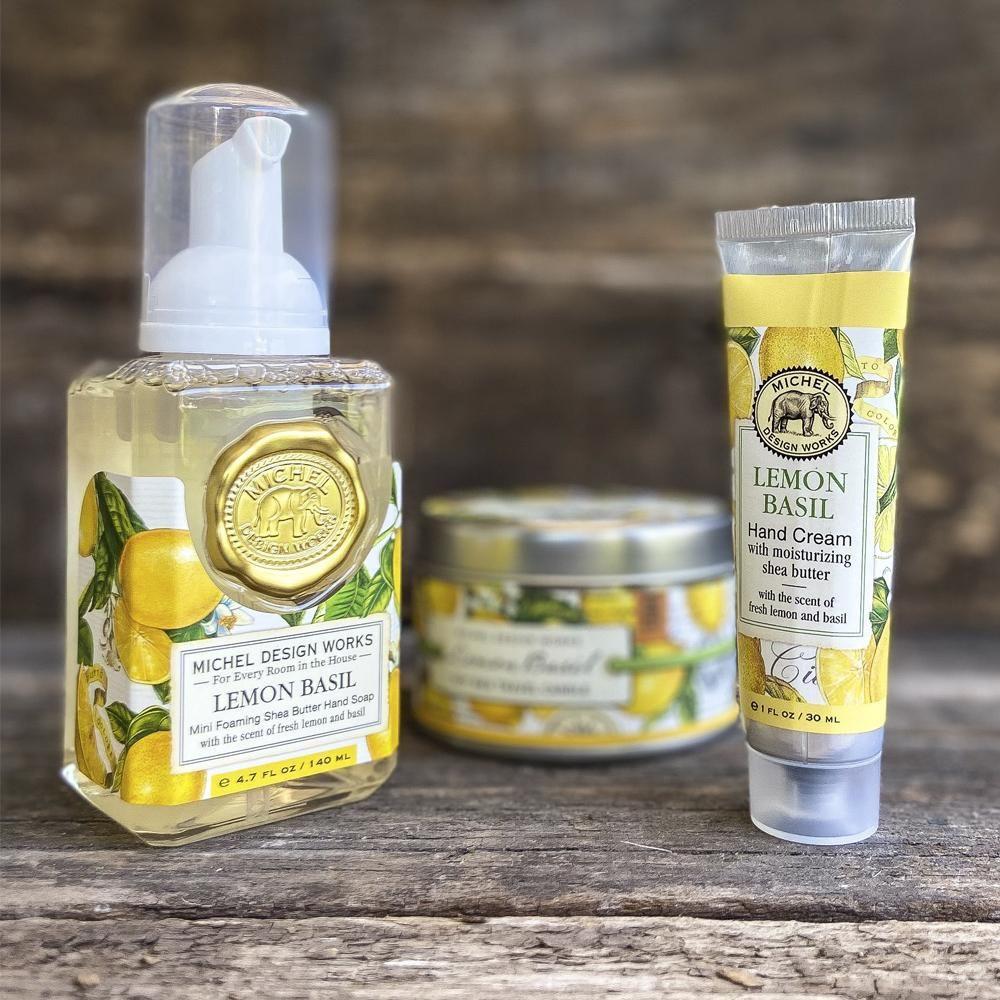 set regalo - pack esencial lemon basil bolsa