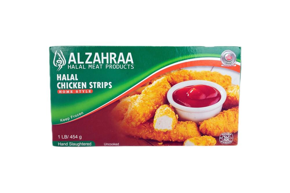 Chicken strips halal