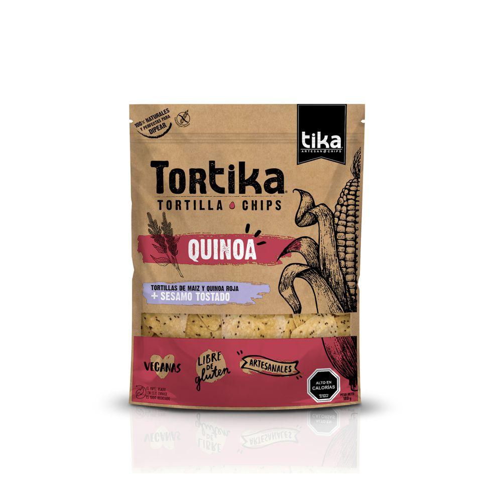 Tortika quinoa y sésamo tostado