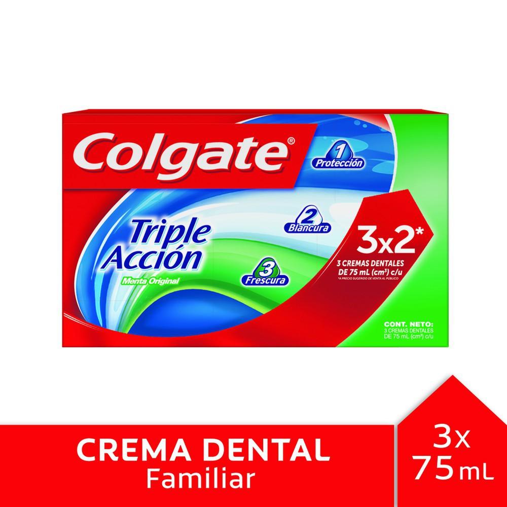 Pasta dental triple acción