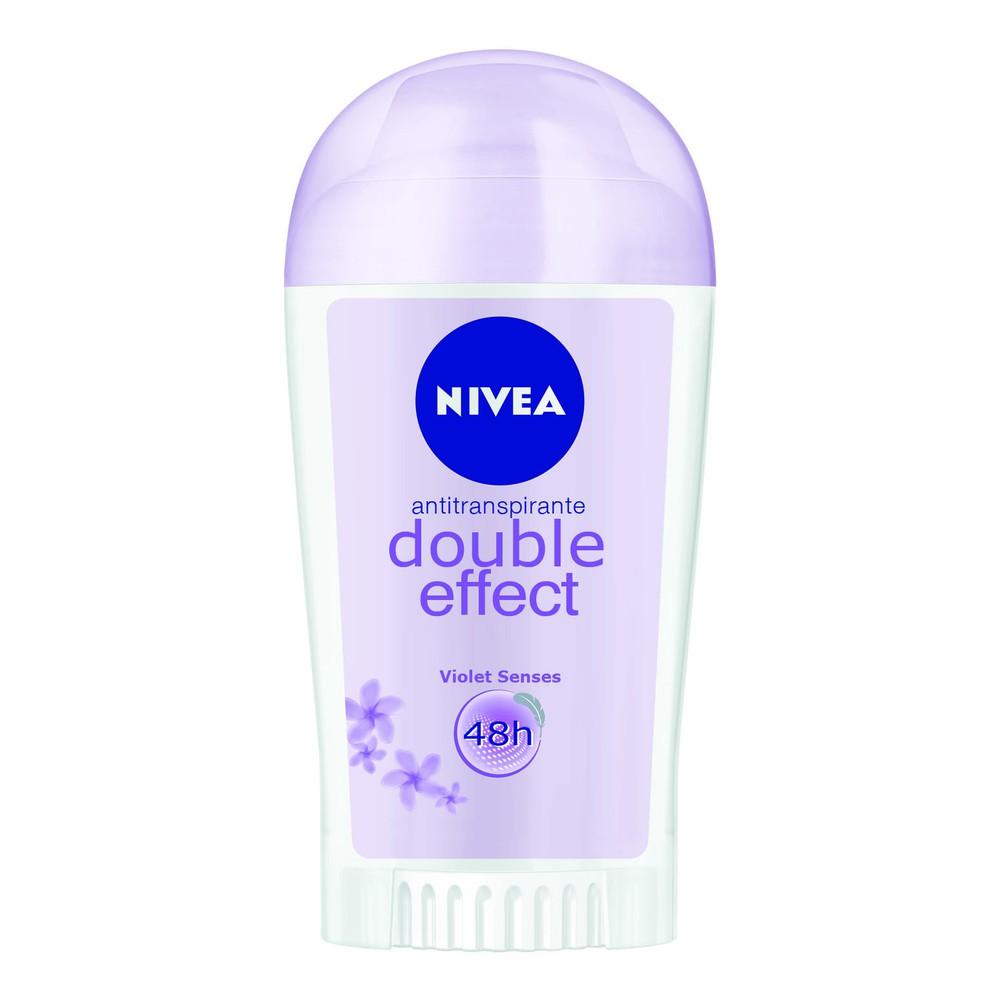 Desodorante antitranspirante mujer double effect violet senses