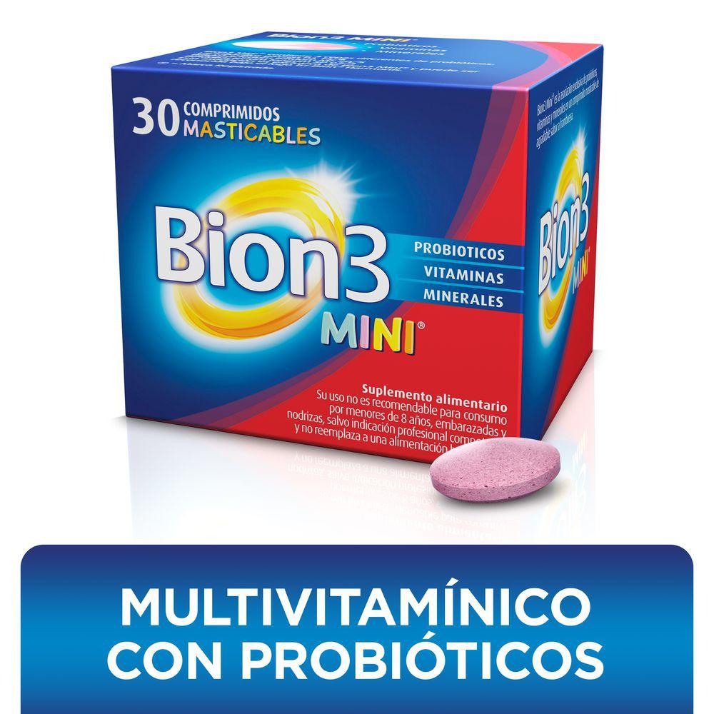 Mini con vitaminas, minerales y probióticos