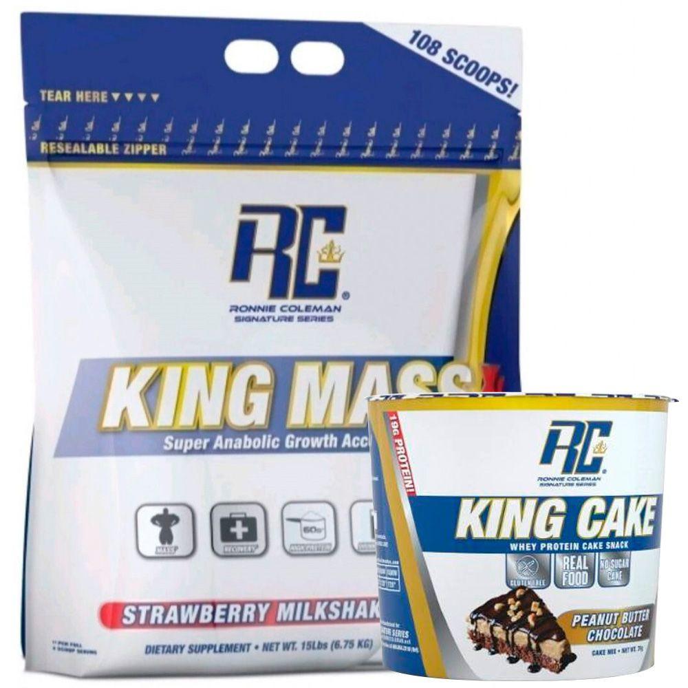 King mss XL sabor frutilla + gratis king cake sabor peanut butter chocolate