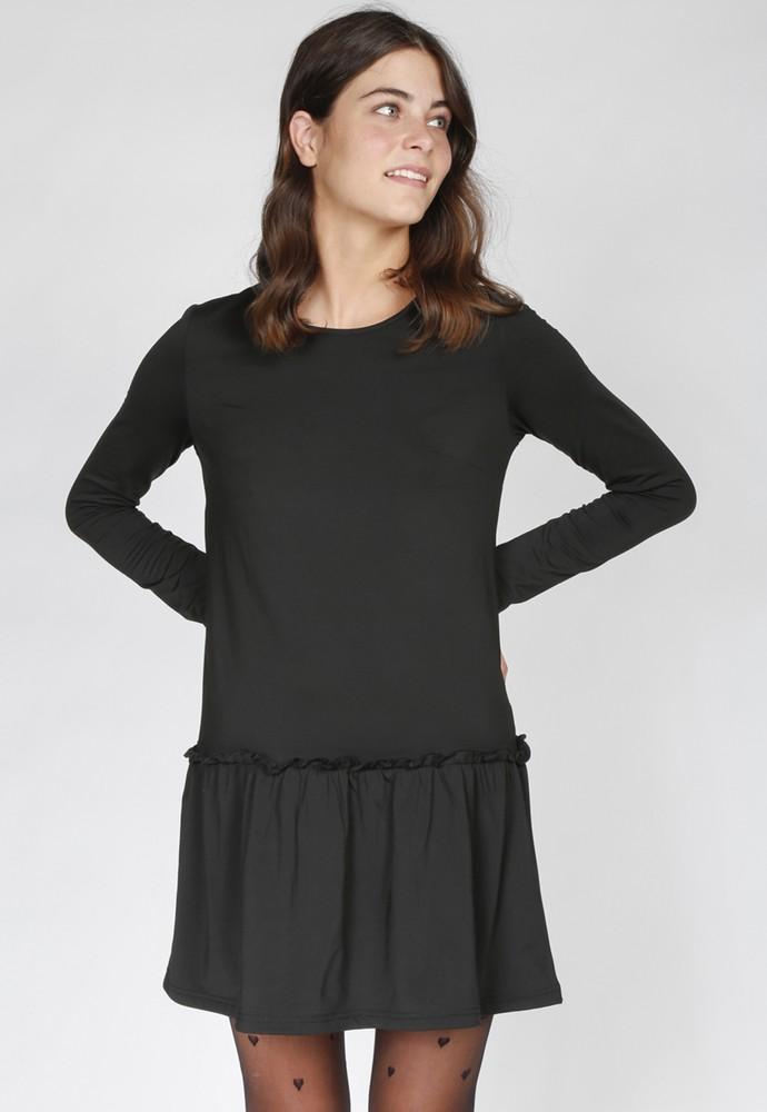 Vestido kayla negro atrevida M