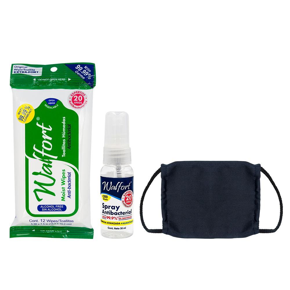 Kit de viaje antibacterial