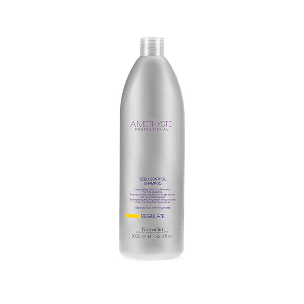 Shampoo amethyste regulate sebo contro
