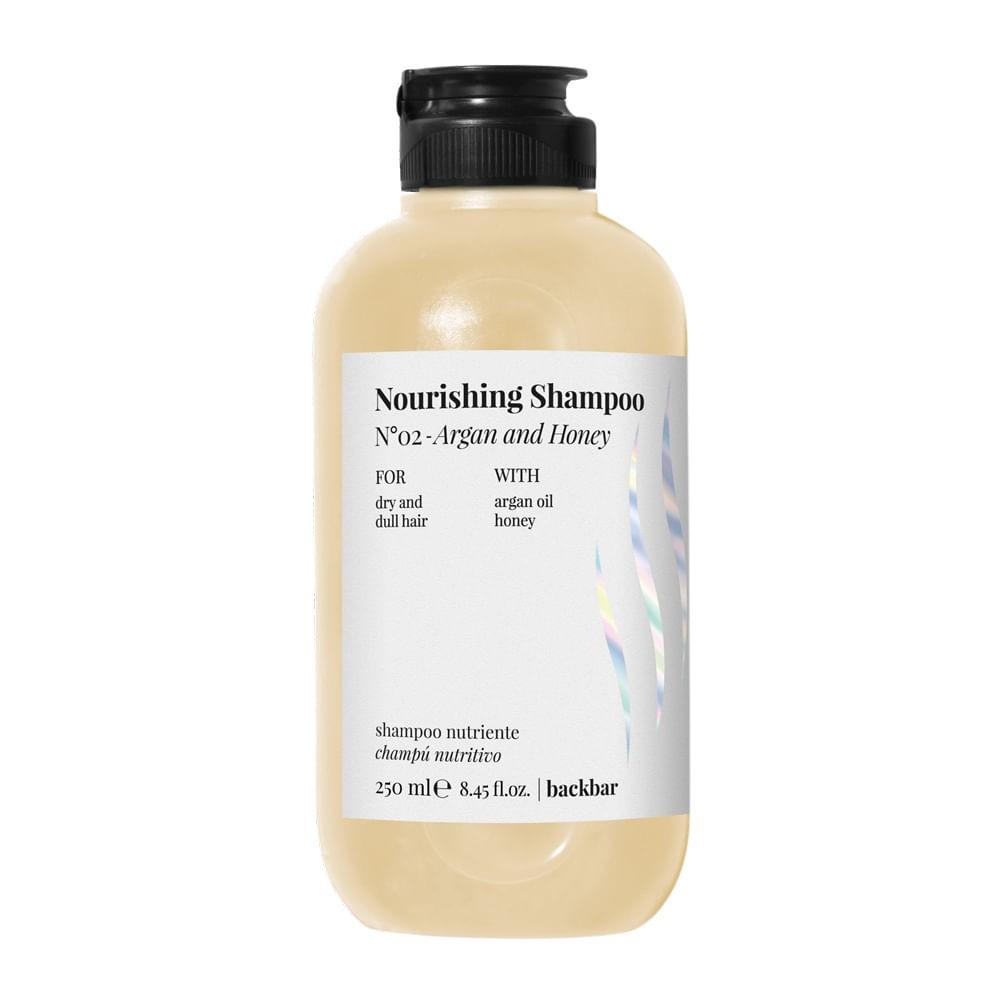 Shampoo back bar nourising argan and honey