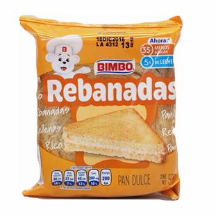 Rebanadas (2) 55 gr Bimbo