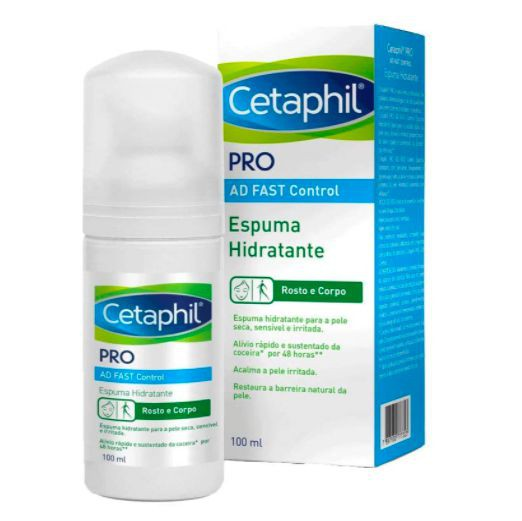 Espuma hidratante Fast Control
