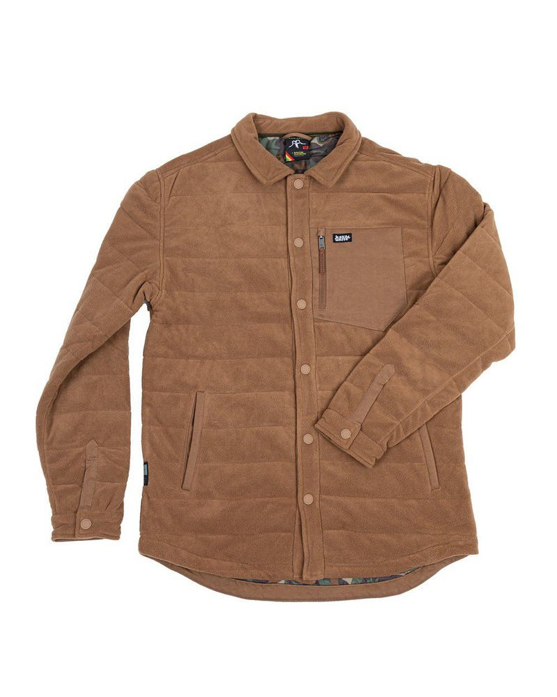 Camisa insulated brown m Talla M