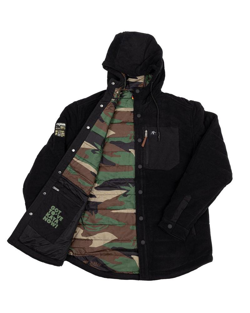 Camisa insulated black l Talla L