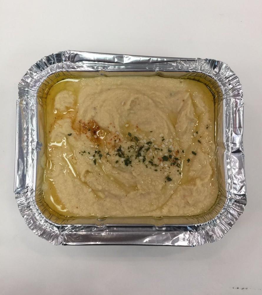 Hummus pote desechable