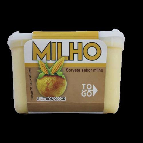 Sorvete de Milho 2l