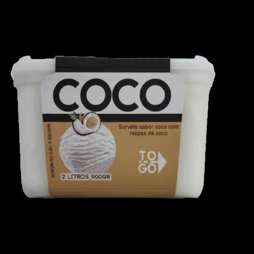 Sorvete de Coco 2l