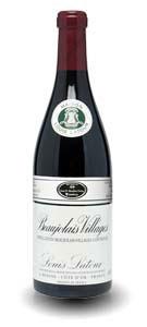 Vino tinto beaujolais villages