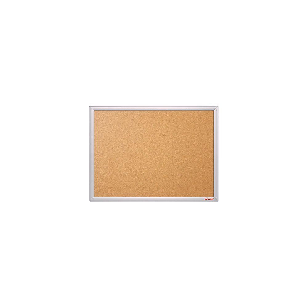 Pizarra de corcho marco de aluminio 45x60