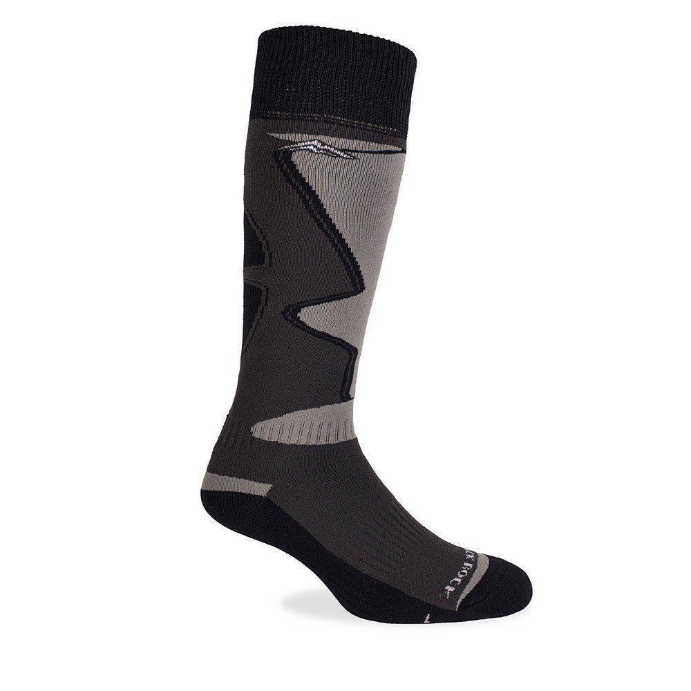 Medias ski - snowboard panal – ski 22 gris/negro - talla l