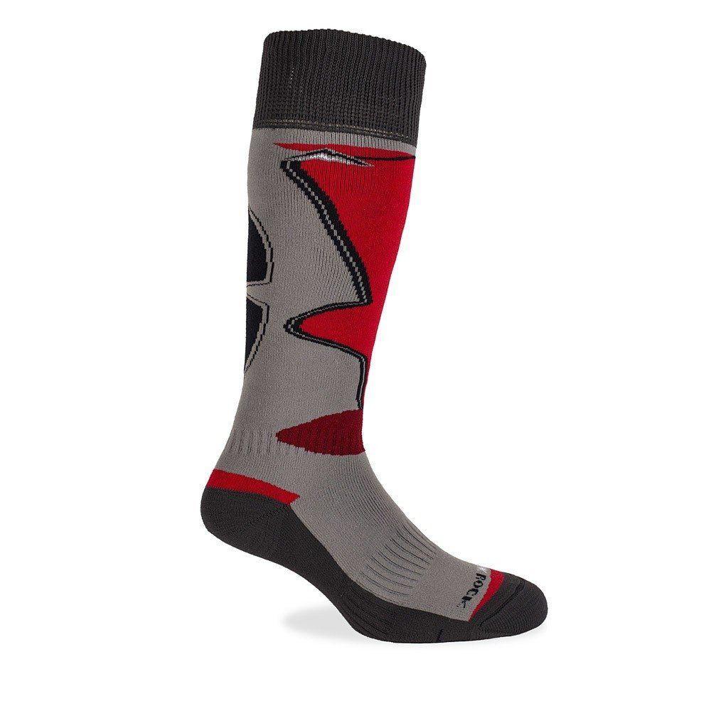 Medias ski - snowboard panal – ski 22 gris/rojo - talla m Unidad