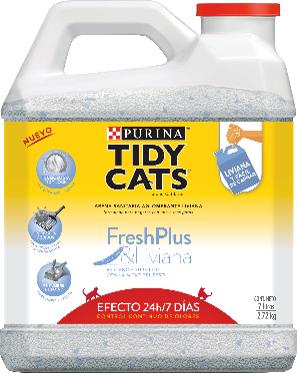 Arena sanitaria para gatos Tidy cats