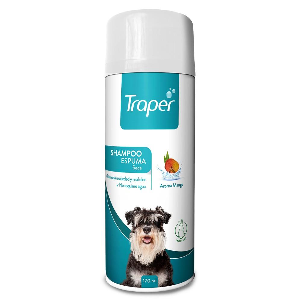 Shampoo en seco para perro