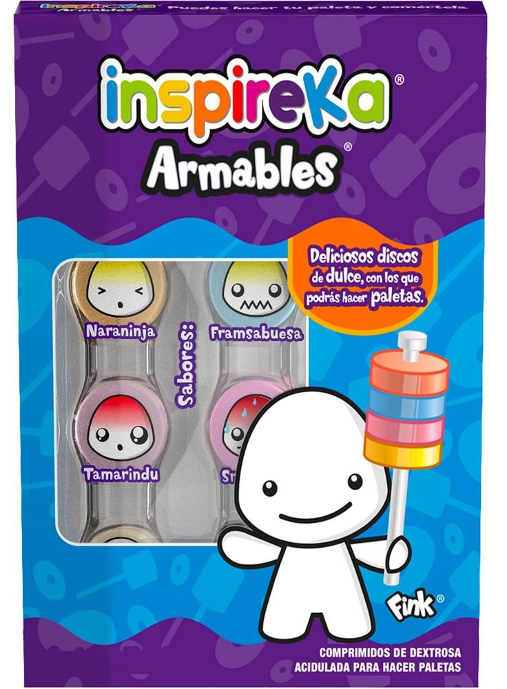 Dulces para niños pastillas armables