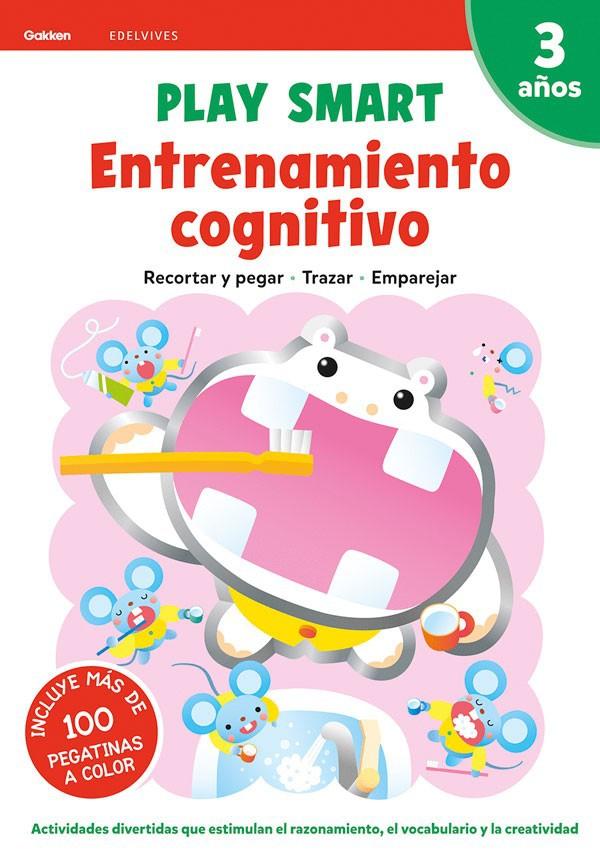 Play smart. 3 años. entrenamiento cognitivo