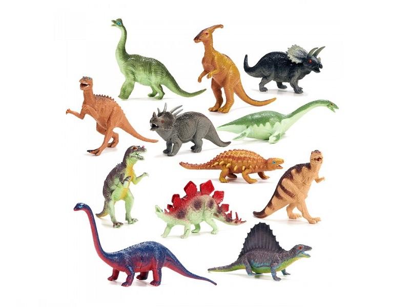 Dinosaurios pequeños x 12