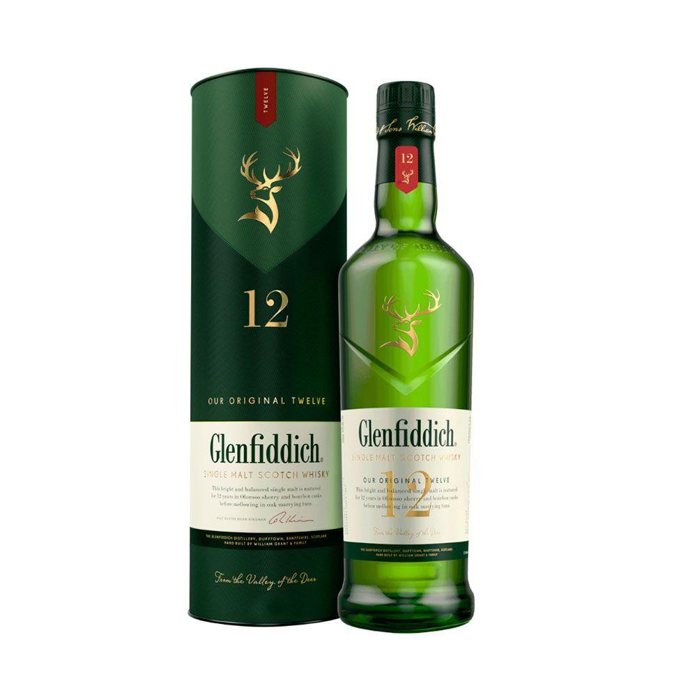 Whiskey Glenfiddich 12 años 43º