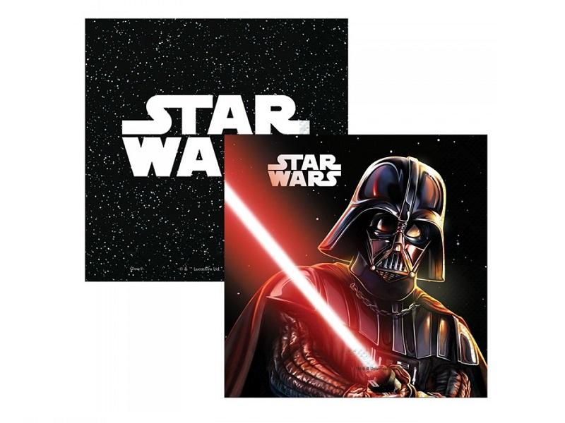 Servilletas star wars x 12