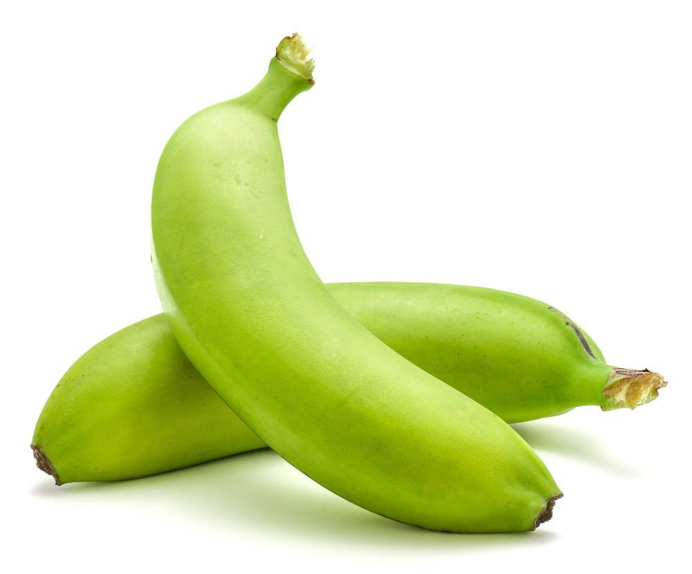 Hard green bananas LB