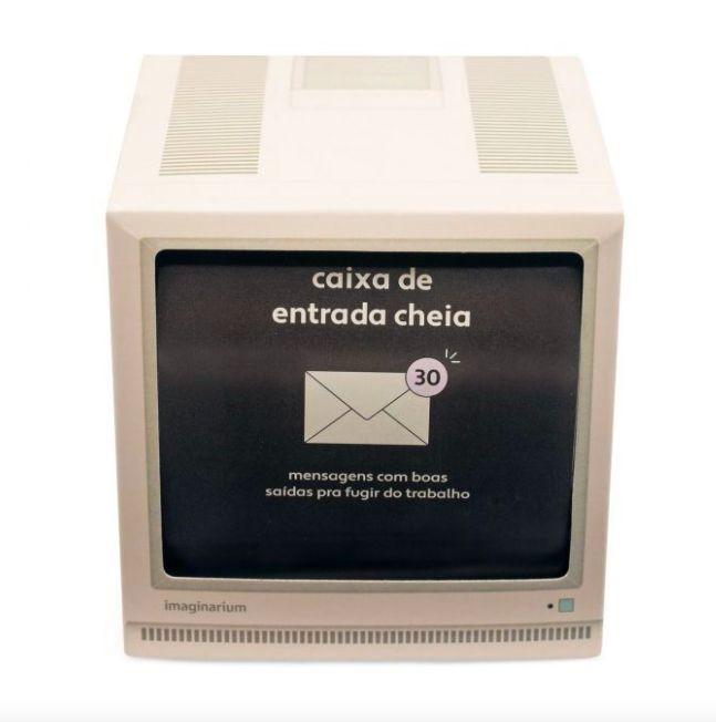 Box 30 mensagens caixa de entrada