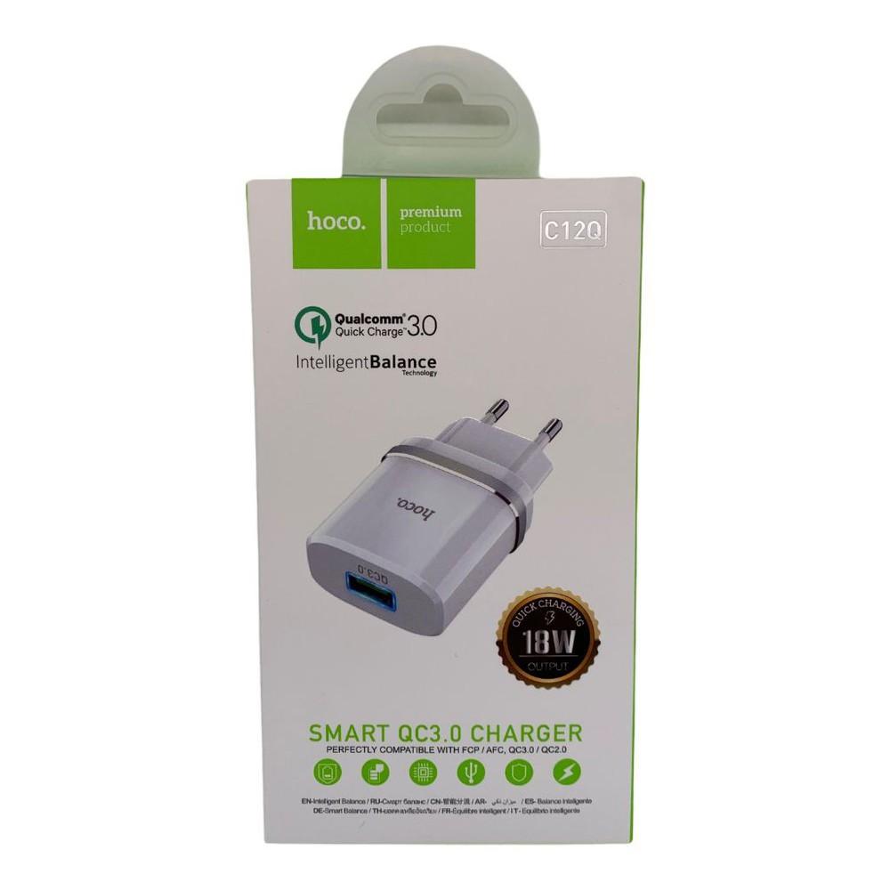 Smart qc3.0 charger modelo c12q