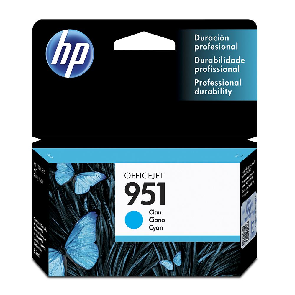 Tinta Cartridge Hp 951 Cn050Al Cyan