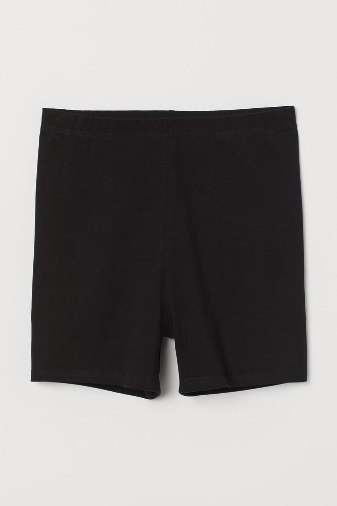 Cycling Shorts Color: black. Size: l