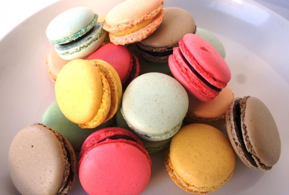 Macaron mini surtido 10 unidades sabores dulces granel
